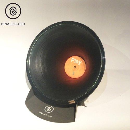 バイナルレコード【BINAL RECORD】ECO SPEAKER NO.13 (エコスピーカー/スマホを置くだけで音が倍鳴るNO.13)