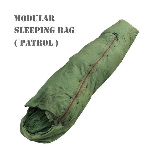 US MODULAR SLEEPING BAG PATROL(アメリカ軍モジュラースリーピングバッグ/パトロール/寝袋 )米軍放出品/…