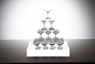 シャンパンタワーセット4段
