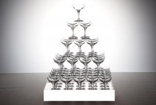 シャンパンタワーセット5段