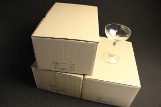 シャンパンタワー用グラス3段分3箱