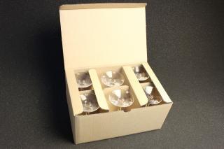 シャンパンタワー用グラス4段分5箱