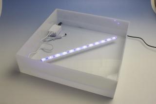LED電飾付きシャンパンタワー3段用アクリルトレー