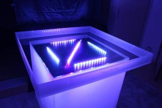 LED電飾付きシャンパンタワー10段用アクリルトレー