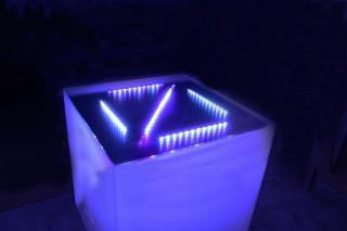 シャンパンタワー用アクリルテーブル(電飾付き)