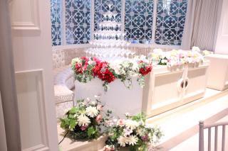 シャンパンタワー用装飾花