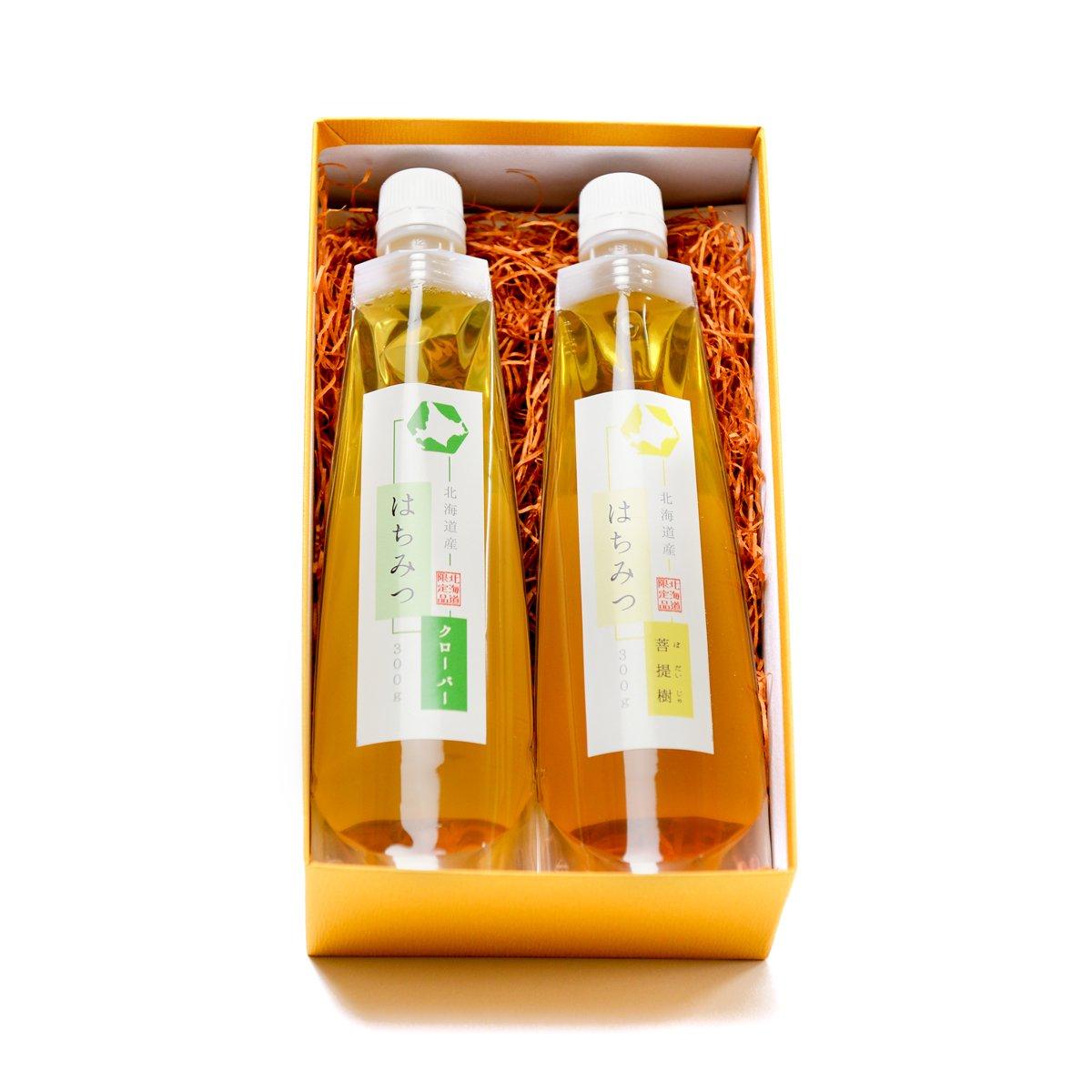 北海道産らくらく蜂蜜 2種ギフトセット