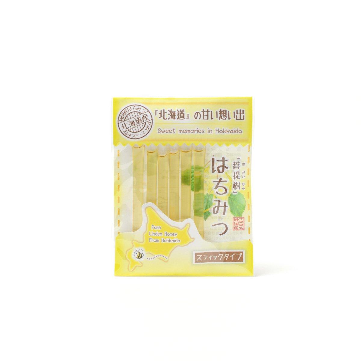 北海道産スティック蜂蜜 菩提樹 2.5g×6本
