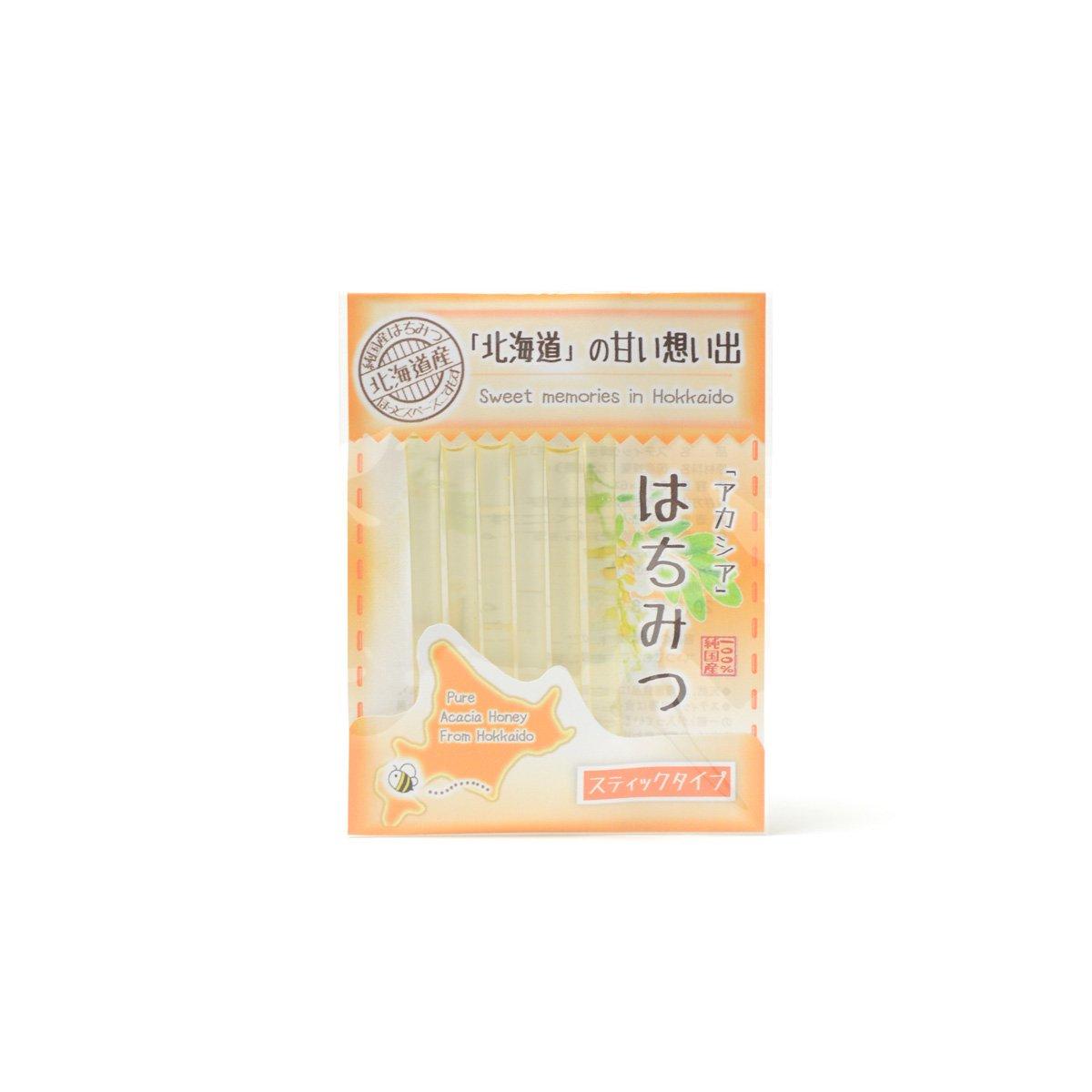 北海道産スティック蜂蜜 アカシア 2.5g×6本
