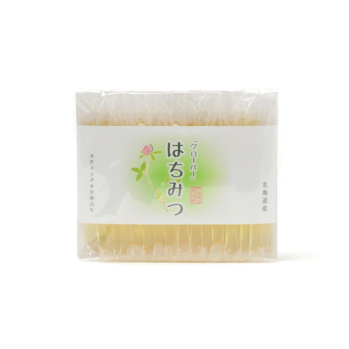 北海道産スティック蜂蜜 クローバー 2.5g×40本