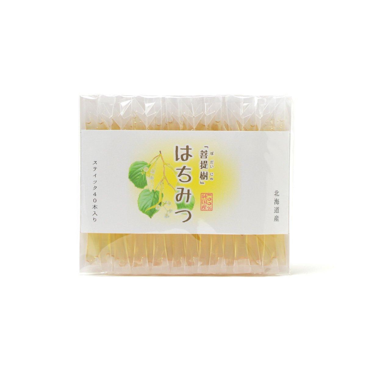 北海道産スティック蜂蜜 菩提樹 2.5g×40本