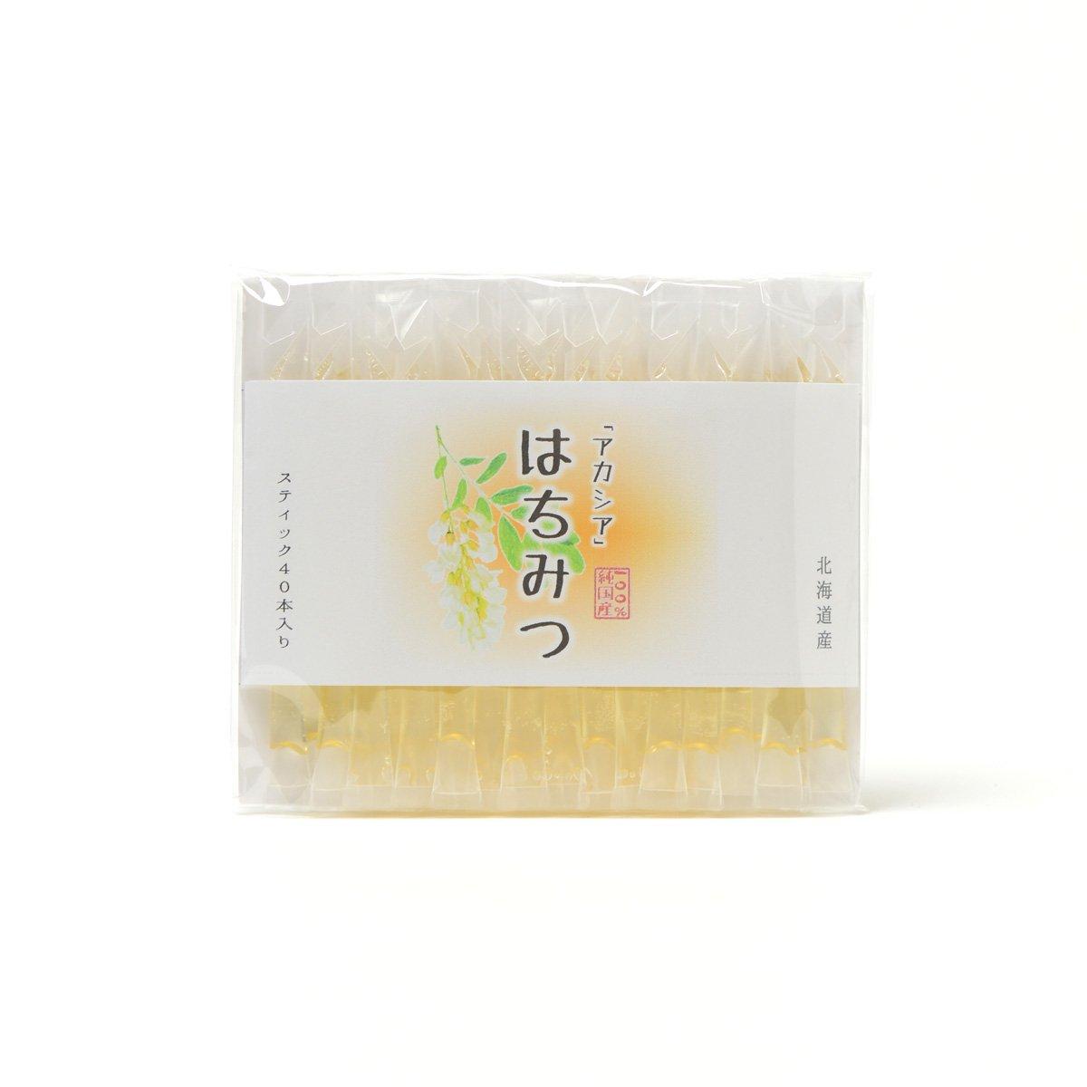 北海道産スティック蜂蜜 アカシア 2.5g×40本