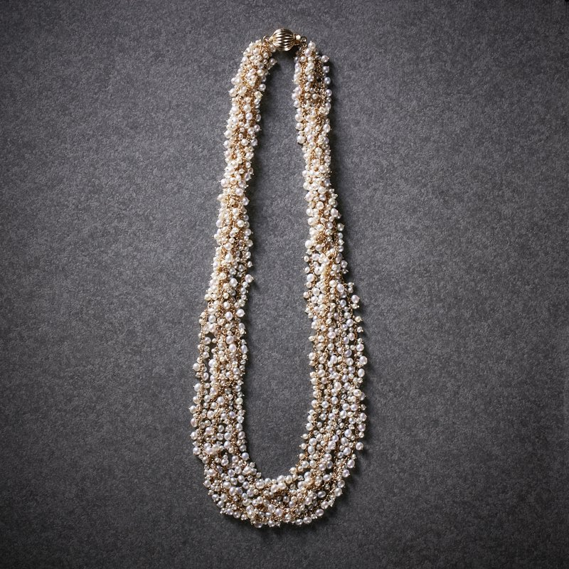 shirotsumekusa full bloom necklace