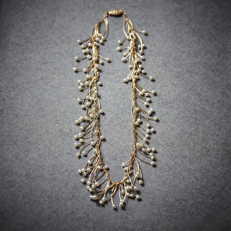 popolace full bloom necklace