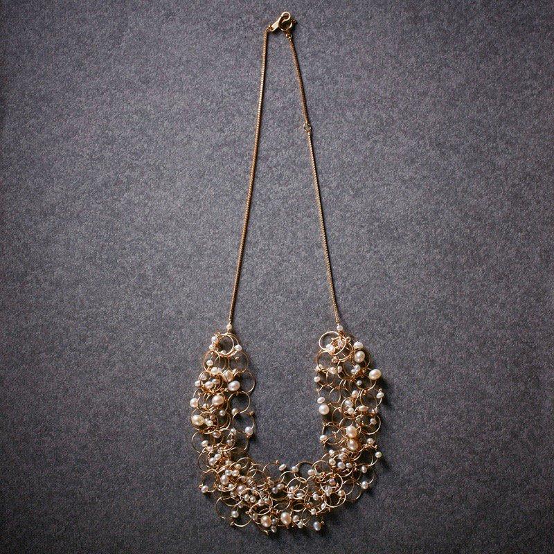 petal bloom necklace
