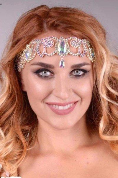 Amalia 樹脂製 ヘッドドレス ヘッドアクセサリー 03