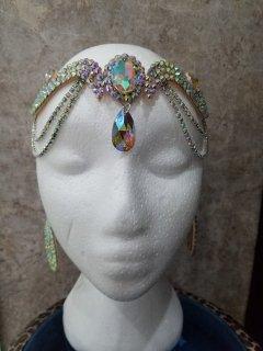 Amalia design 樹脂製 ヘッドアクセサリー ストーン
