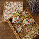 祝「令和」桐の飾り箱ときもの小物5点セット
