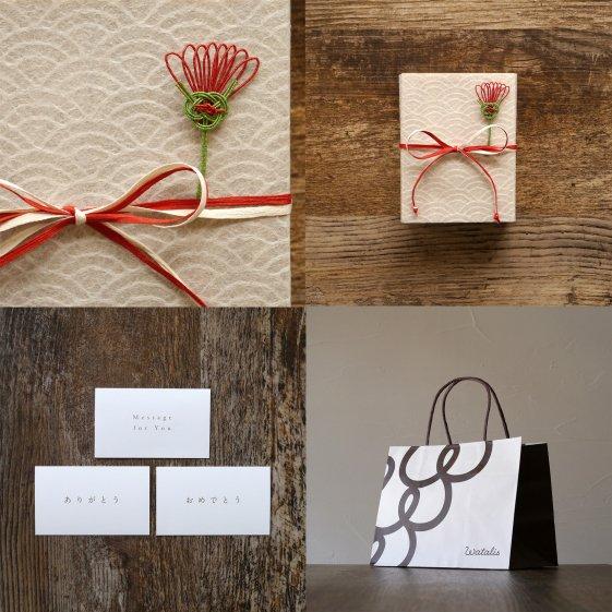 【母の日】桐の小箱とリップと匂い袋セット