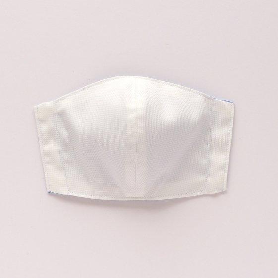 【即納】マスクS ギンガムチェック ライトブルー
