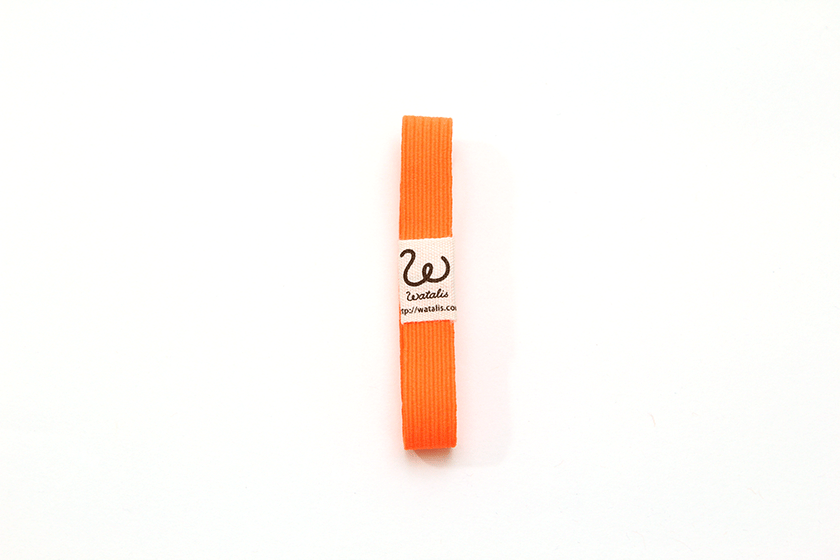 地曳いく子プロデュースカラーゴムバンド パッションオレンジ