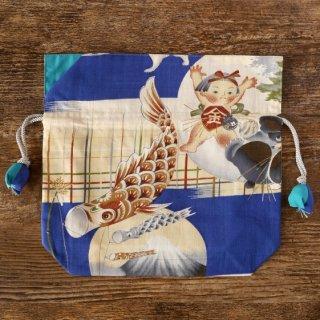 FUGURO<中>アンティーク 金太郎と鯉のぼり