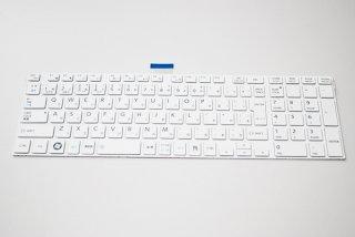 新品 バルク 東芝 dynabook T452 T552 T652 T752 T572 シリーズ 交換用キーボード(ホワイト)