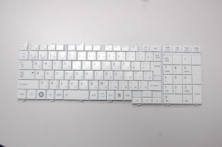 新品 バルク 東芝 dynabook T350 T351シリーズ 交換用キーボード(ホワイト) No1