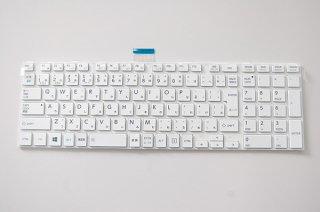 新品 バルク 東芝 dynabook EX/47H EX/47G EX/47F シリーズ 交換用キーボード(ホワイト)