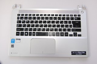 訳あり 中古 東芝 dynabook P54/27M 用キーボードベゼル(キーボード付き)