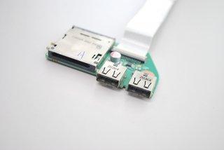 中古 東芝 dynabook T350/34AB シリーズ USB2.0ボード(ケーブル付)NO.210117-15
