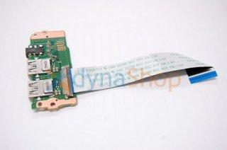 中古 東芝 dynabook B45/B B55/B シリーズ用 USBボード/イヤホン