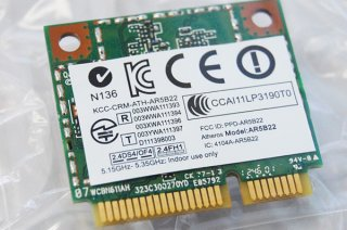 中古 東芝 dynabook T642/T6HB 用 wi-fi/Bluetoothカード(無線カード)