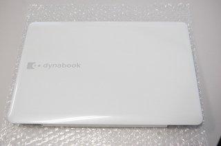 中古 東芝 dynabook EX/35LWHK シリーズ 液晶カバー(白)