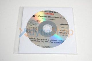 処分品(未開封)windows7 Pro 東芝 dynabook RX3 R730 シリーズ リカバリーメディア