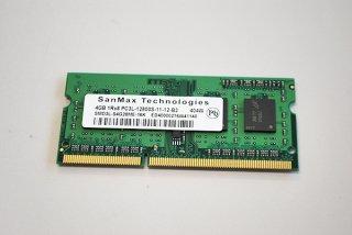 中古 SanMax製 東芝 dynabook AZ15/VB シリーズ 増設メモリ 4GB PC3L-12800 No.1029-1