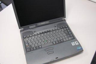 部品取り ジャンク 東芝 Satellite 2550X CDT(バッテリー、HDD、メモリ無し)
