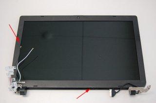 訳あり 中古 東芝 dynabook Satellite B25/66NBシリーズ 用 LCDカバー(液晶パネル込み)