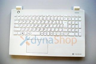 中古美品 東芝 dynabook T45/D T45/DWS キーボードベゼル(パームレスト:白)完動品