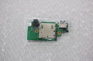 中古 東芝 dynabook P75/28M シリーズ USB/SD/イヤホン基盤