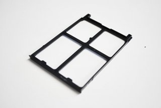 中古 東芝 dynabook R730 R731 シリーズ用 PCカードスロット ダミーカード(ブラック)G210609-2