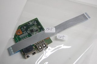 中古 東芝 dynabook T45 T65 シリーズ USB/LAN基盤 (Tシリーズ 共用)
