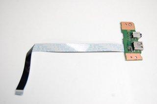 中古 東芝 Satellite R35/M シリーズ USB/イヤホン基盤 No.1220