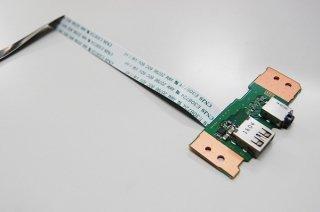 中古 東芝 Satellite R35/P シリーズ USB/イヤホン基盤 No.0218