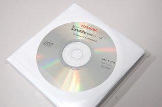 処分品(開封済み)windows7 Pro 東芝 Satellite B552シリーズ用 リカバリーメディア(オリジナル8枚組)