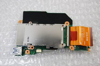 中古 東芝 dynabook R741/E 用 SDカード基盤