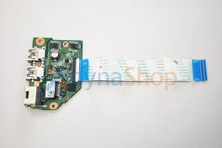 中古 東芝 dynabook T45/TW シリーズ LANコネクター/USB(ネットワーク基盤)