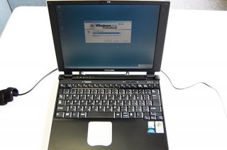 中古美品 東芝 Dynabook SS 2000 DS80P windows2000 Pro