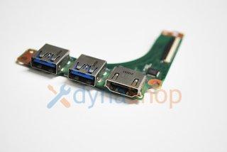 中古 東芝 dynabook R734/Mシリーズ USB3.0 HDMI出力端子基盤