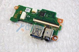 中古 東芝 dynabook R734/Mシリーズ 電源スイッチ USB3.0 イヤホン端子基盤
